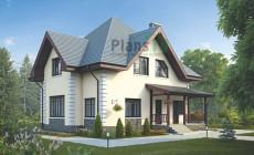 Проект кирпичного дома 39-10