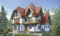 Проект кирпичного дома 39-11