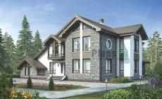 Проект кирпичного дома 39-17