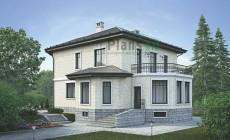 Проект кирпичного дома 39-19