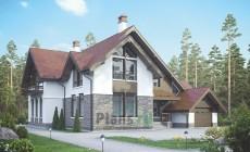 Проект кирпичного дома 39-20