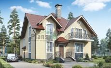 Проект кирпичного дома 39-22