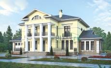 Проект кирпичного дома 39-25