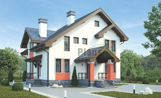 Проект кирпичного дома 39-27