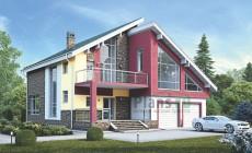 Проект кирпичного дома 39-34
