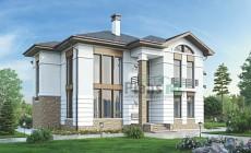 Проект кирпичного дома 39-35