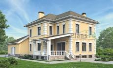 Проект кирпичного дома 39-36