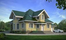 Проект кирпичного дома 39-40
