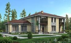 Проект кирпичного дома 39-41