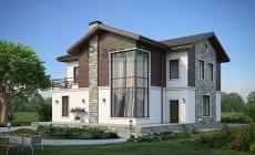 Проект кирпичного дома 39-42