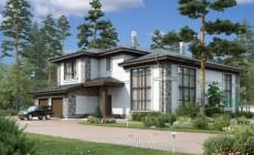 Проект кирпичного дома 39-45