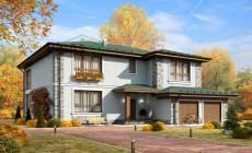 Проект кирпичного дома 39-46