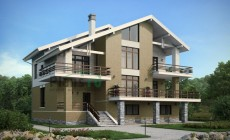 Проект кирпичного дома 39-50
