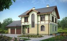 Проект кирпичного дома 39-54