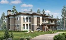 Проект кирпичного дома 39-61