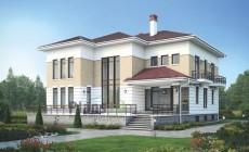 Проект кирпичного дома 39-62