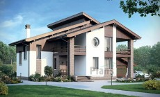 Проект кирпичного дома 39-69