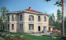 Проект кирпичного дома 39-70