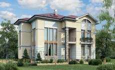 Проект кирпичного дома 39-71