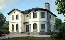 Проект кирпичного дома 39-72