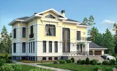 Проект кирпичного дома 39-73