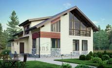 Проект кирпичного дома 39-75