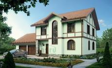 Проект кирпичного дома 39-78