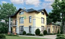 Проект кирпичного дома 39-80