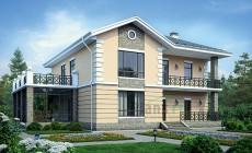 Проект кирпичного дома 39-81