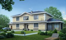 Проект кирпичного дома 39-82