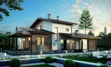 Проект кирпичного дома 39-83