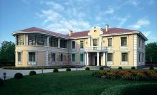 Проект кирпичного дома 39-84