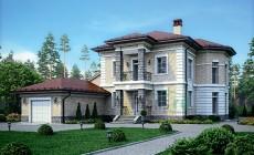Проект кирпичного дома 39-86