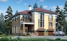 Проект кирпичного дома 39-89