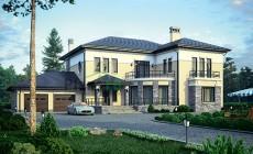 Проект кирпичного дома 39-91