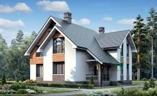 Проект кирпичного дома 39-92