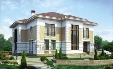 Проект кирпичного дома 39-95