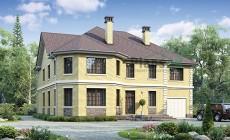 Проект кирпичного дома 39-97