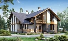 Проект кирпичного дома 39-99