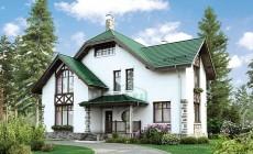 Проект кирпичного дома 40-00