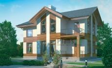 Проект бетонного дома 54-38