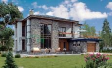 Проект кирпичного дома 40-04