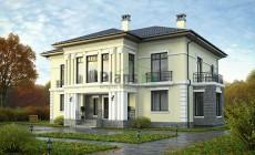 Проект кирпичного дома 40-05