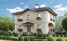 Проект кирпичного дома 40-06