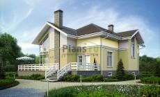 Проект кирпичного дома 40-07
