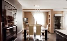 Кухня, совмещенная с гостиной. Квартира на Ярославском пр.