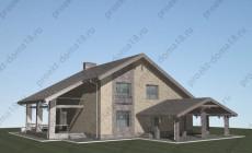 Проект дома в стиле ШАЛЕ площадью 200 кв.м