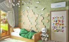 Проект детской в частном доме в Агалатово