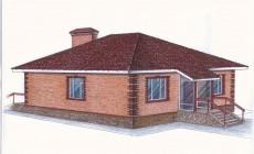 """""""Иж-334""""  Проект уютного одноэтажного дома"""