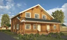 Дом 380 м2 15х17 построенный по проекту КОМФОРТНЫЙ